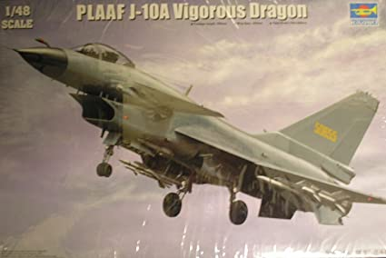 Trumpeter 1/48 PLAAF J10A Vigorous Dragon Fighter Model Kit [Toy] (japan import)