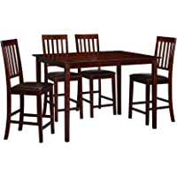 Essential Home Cayman 5-Piece High Top Dining Set + $121.49 Kmart Credit