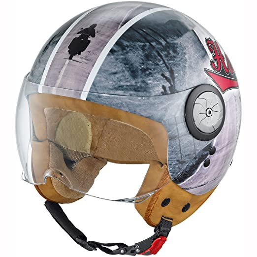 Held mc corry road taille :  l (59/60 cm) casque jet