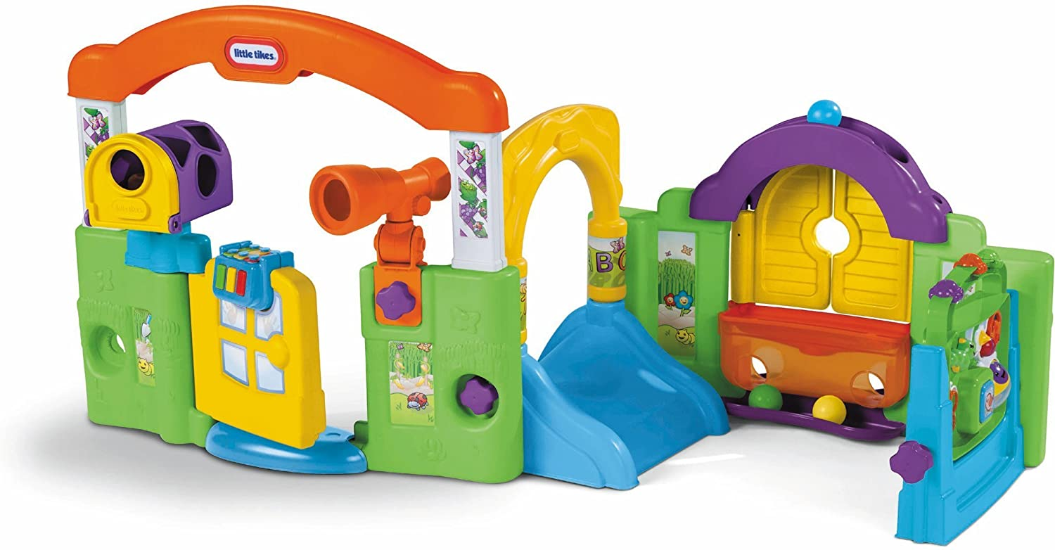 Little tikes activity garden baby playset one stop toy store for Little tikes outdoor playset