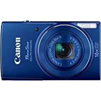 Canon PowerShot ELPH 150 IS 20.0 Megapixel Digital Camera (Blue) - Refurbished