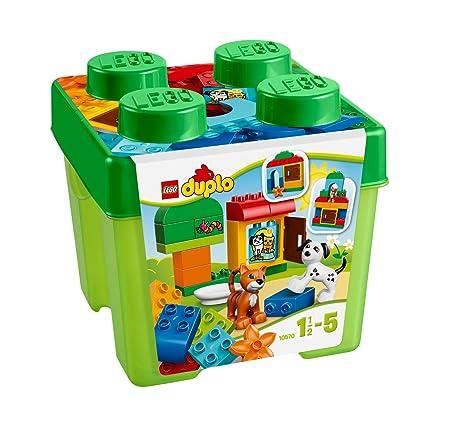 Lego Duplo Briques - 10570 - Jeu De Construction - Boîte De Briques Et D'animaux