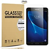 Diruite for Samsung Galaxy Tab A 7.0 Screen Protector Tempered Glass for SM-T280 Only [2.5D 9H Hardness] [Bubble Free] [Anti-Scratch] -Permanent Warranty Replacement (Color: clear)