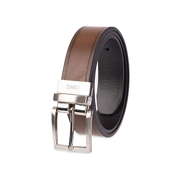 22-24 Chaps Big Boys 1 Reversible Dress Casual Belt brown//black Small
