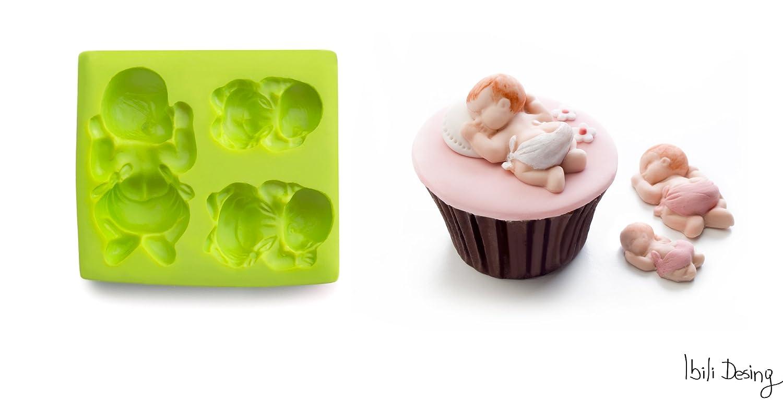 <p>Molde de silicona para hacer figuras con diferentes materiales</p>