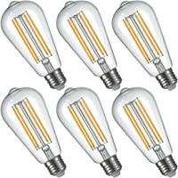 6-Pack LightStory ST58 E27 Base 2200K LED Edison Bulb