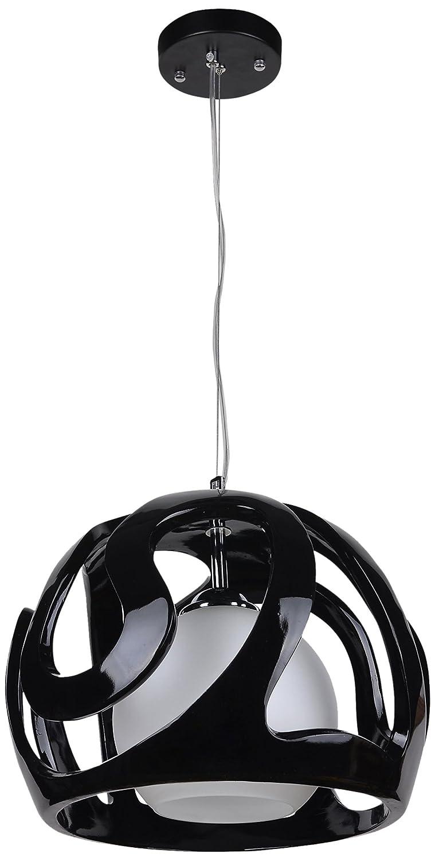 Lampex 325/1 CZA Hängeleuchte Akiba, schwarz