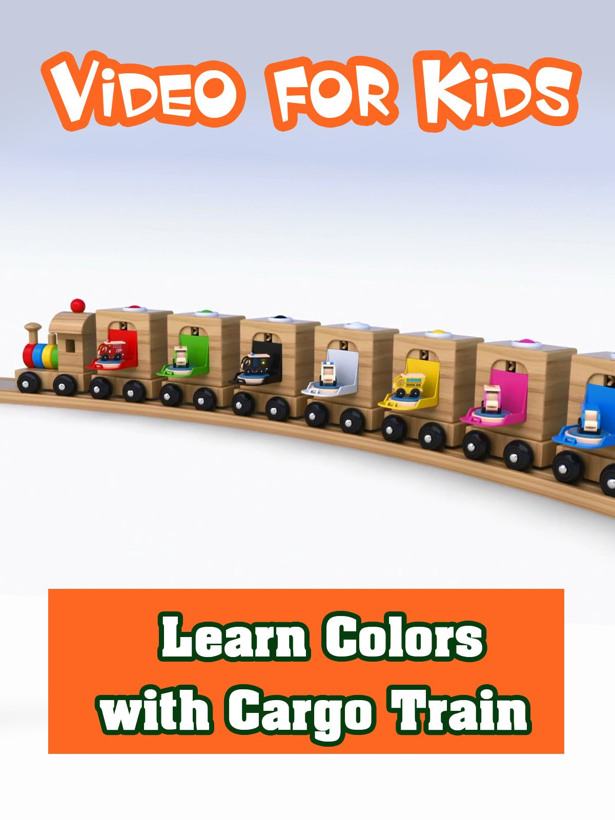 Learn Colors with Cargo Train