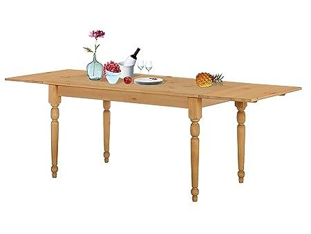 SWIRA Esstisch mit klappbarer Tischplatte aus Kiefer