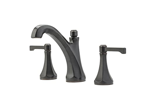 "Pfister Arterra 2-Handle 8"" Widespread Bathroom Faucet, Tuscan Bronze"