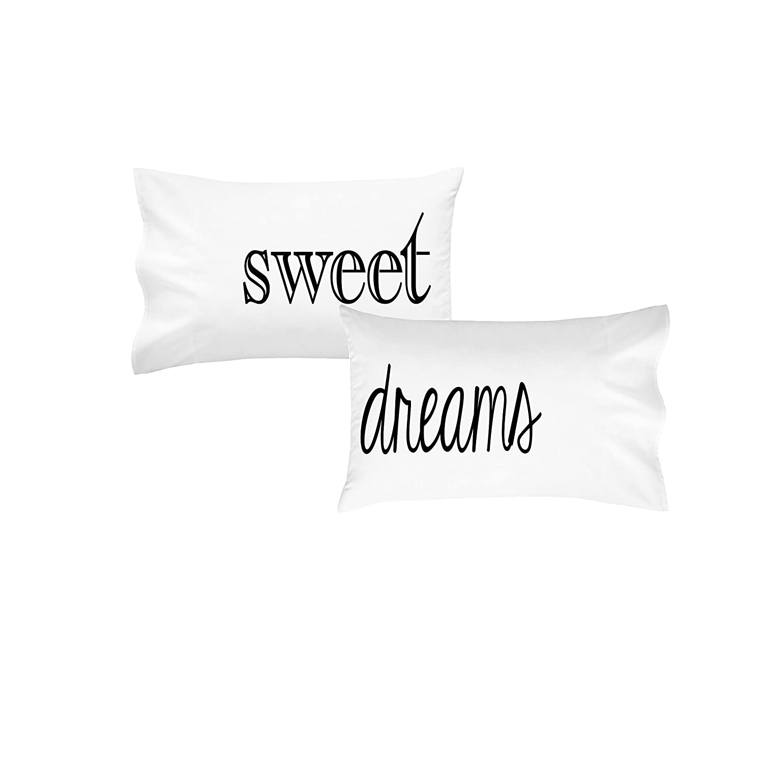 Oh, Susannah® Sweet Dreams Pillowcases | Couples Pillow Cases | Guest Room Pillow Cases (2 Standard / Queen Pillowcases)