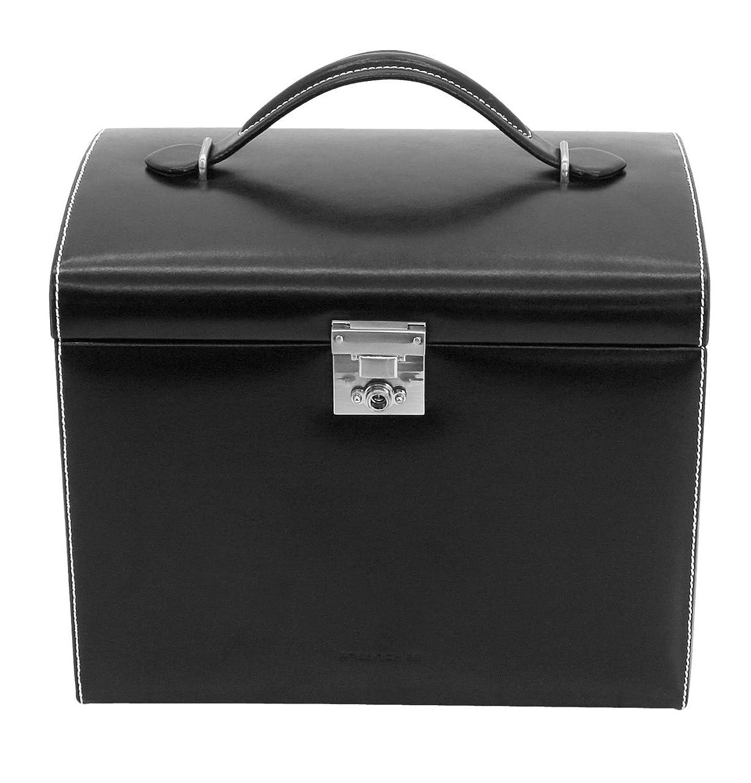 Friedrich|23 Damen-Schmuckkasten London Leder schwarz – 26103-2 günstig bestellen