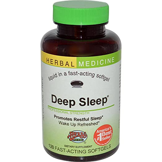 海淘防失眠保健品:Herbs Etc. Deep Sleep 深度睡眠补剂