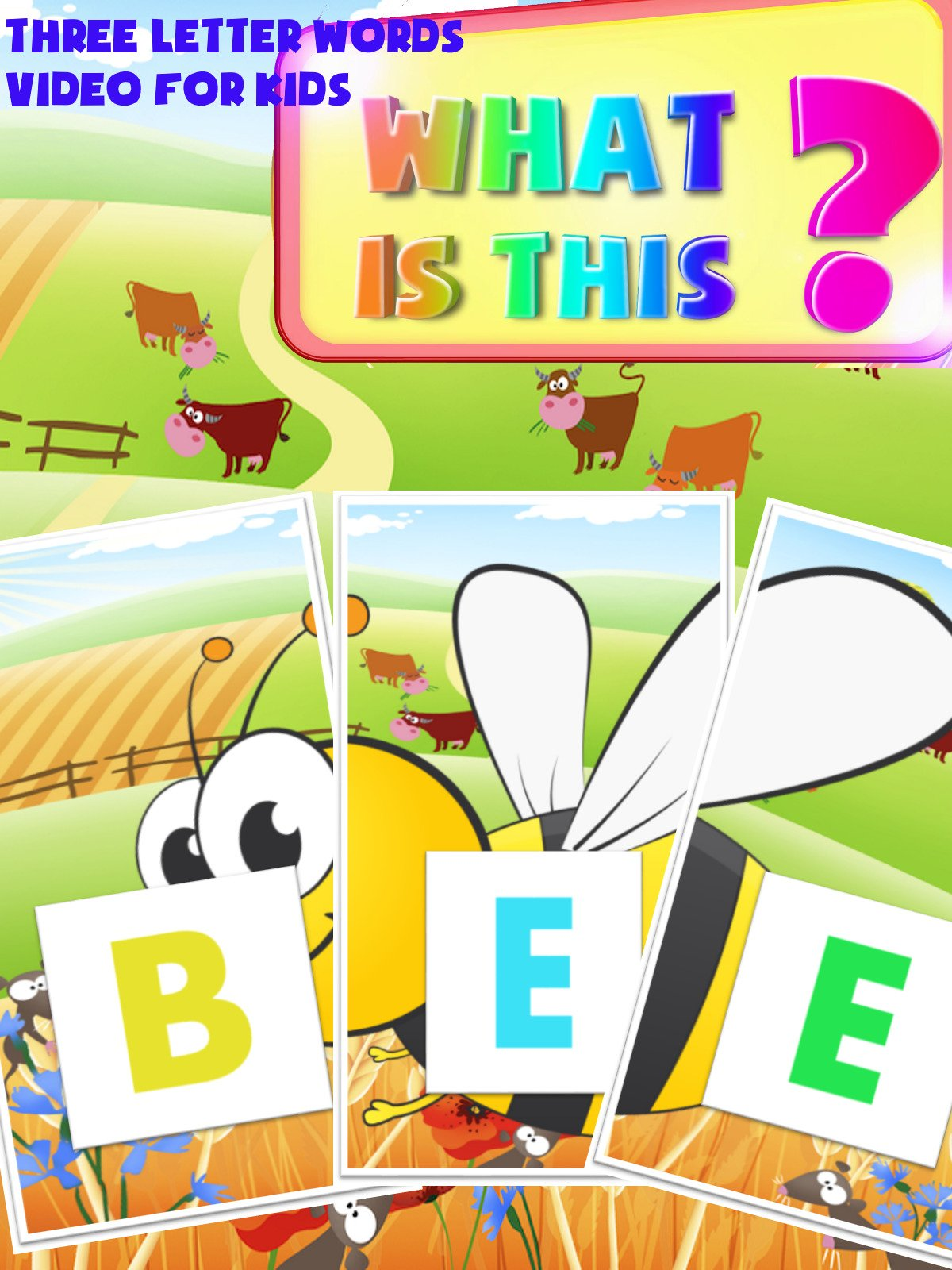 What Is This ? Three Letter Words Video For Kids