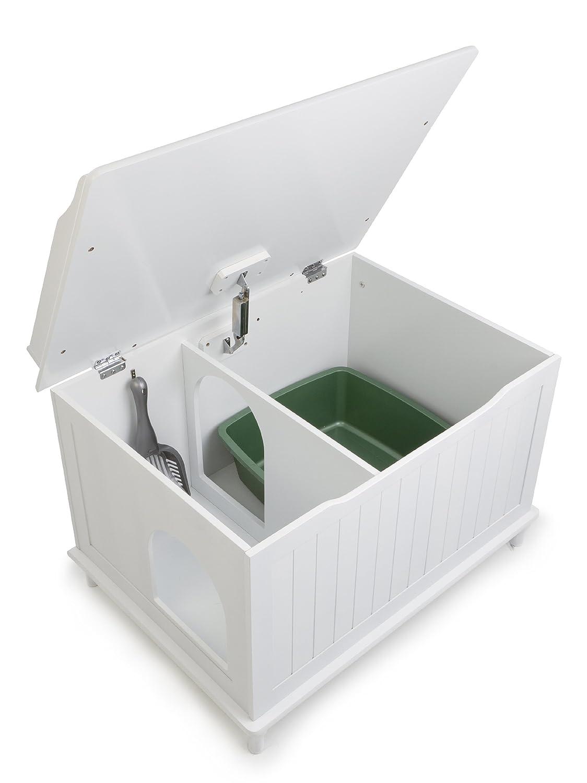 White Litter Box Furniture