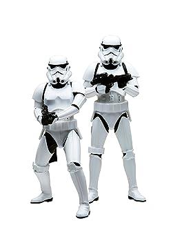 Kotobukiya - Ktsw62 - Figurine Cinéma - Star Wars - Stormtrooper Two-pack Artfx Statue