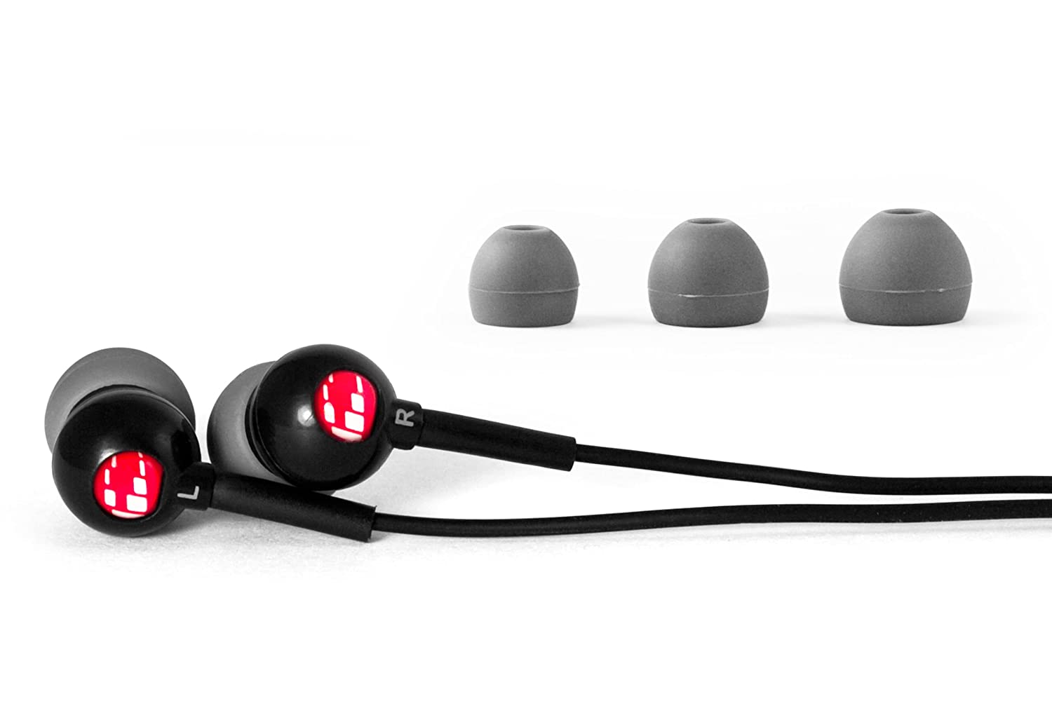 H2O Audio CB1-BK Flex All Sport Waterproof In-Ear Headphones (Onyx Black)