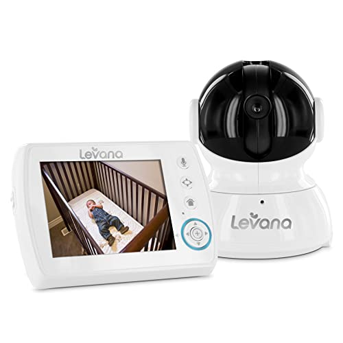 Levana Astra Digital Baby Video Monitor with Talk to Baby Intercom