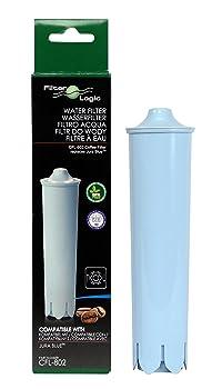Jura Clearyl Blue CFL-802 Water Filter Replacement for Jura Espresso Coffee Machines (One touch Impressa, Jura ENA) - Jura 71445, Jura 67879