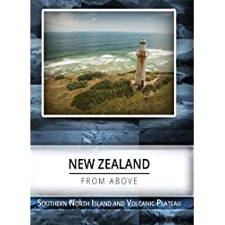 New Zealand From Above  Southern North Island & Volcanic Plateau [Blu-ray]