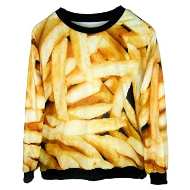 french fries sweatshirt