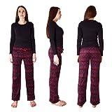 Cherokee Women's 2 Piece Pajama Set, Aztec Print, L
