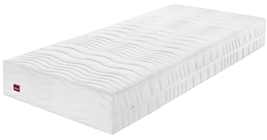 Abeil Materasso in memory foam, dimensioni: XXL, Poliestere, bianco, 140 x 190 cm