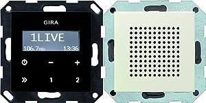Gira 228001 Unterputz Radio RDS System 55, cremeweiß  BaumarktBewertungen