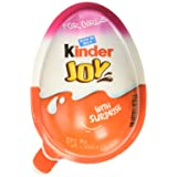Chocolate Kinder Joy for Girls with Surprise Inside (12-Pack) (Tamaño: 12-Pack (Girls))