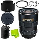 Nikon AF-S DX Zoom-NIKKOR 17-55mm f/2.8G IF-ED Base Bundle (Color: 17-55MM 2.8, Tamaño: Base)