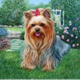 DMC Thread 14CT Counted Cross Stitch Kits Cute Dogs Handmade Embroidery Pattern Needlecraft Room Decor (Cute Dogs) (Color: Cute dogs)