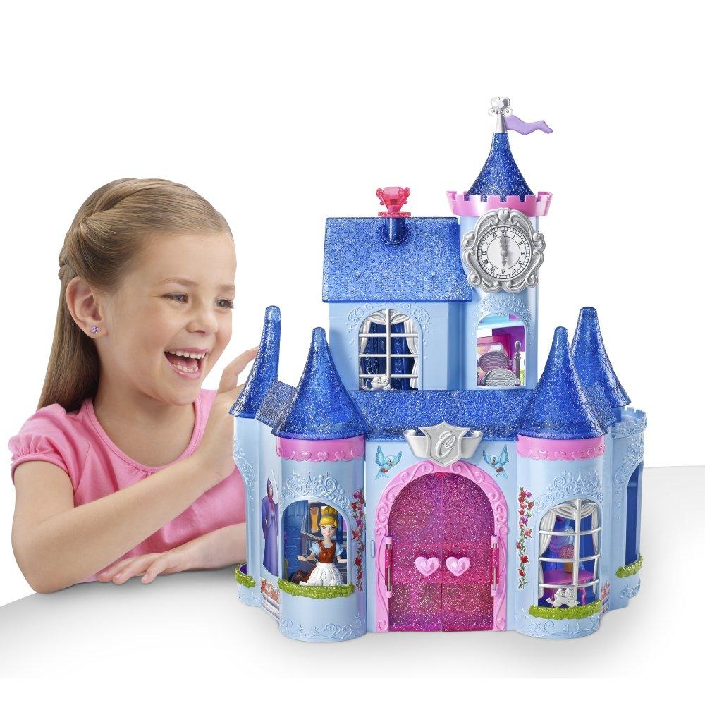 Cinderella Magic Clip Castle Doll House on Sale