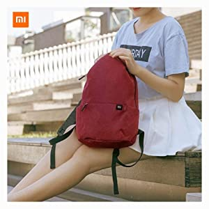 PROGLEAM Travel & Storage Bag, Original Xiaomi 10L Backpack Bag 8 Colors Level 4 Water Repellent 165g Weight YKK Zip Outdoor Chest Pack for Mens Women Travel Camping, Navy (Color: Navy)