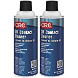 CRC QD Plastic Safe Liquid Contact Cleaner, 11 oz Aerosol Can, Clear (Clear (2-PACK)) (Color: Clear (2-PACK))