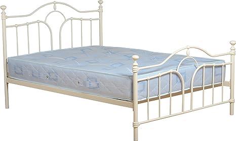 Seconique Keswick cama, pie alto de acoplamiento para cama de matrimonio
