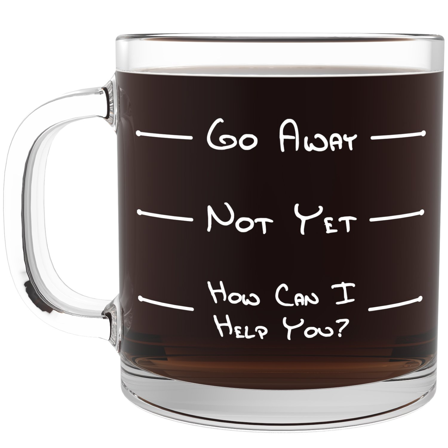 Fathers day gifts library for Cool glass coffee mugs