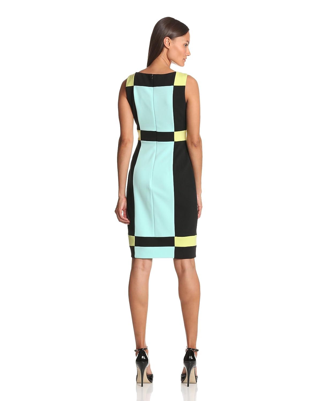 Maggy London Colorblock Scuba Dress