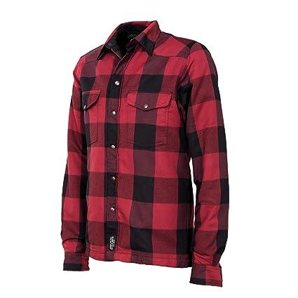 John Doe Lumberjack T-shirt Moto Kevlar®-Rouge