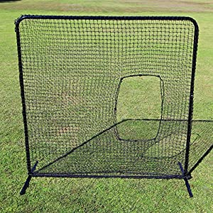 Buy Cimarron Outdoor Sports Gaming Accessories 7x7 #42 Softball Net and Frame by Cimmaron Sports