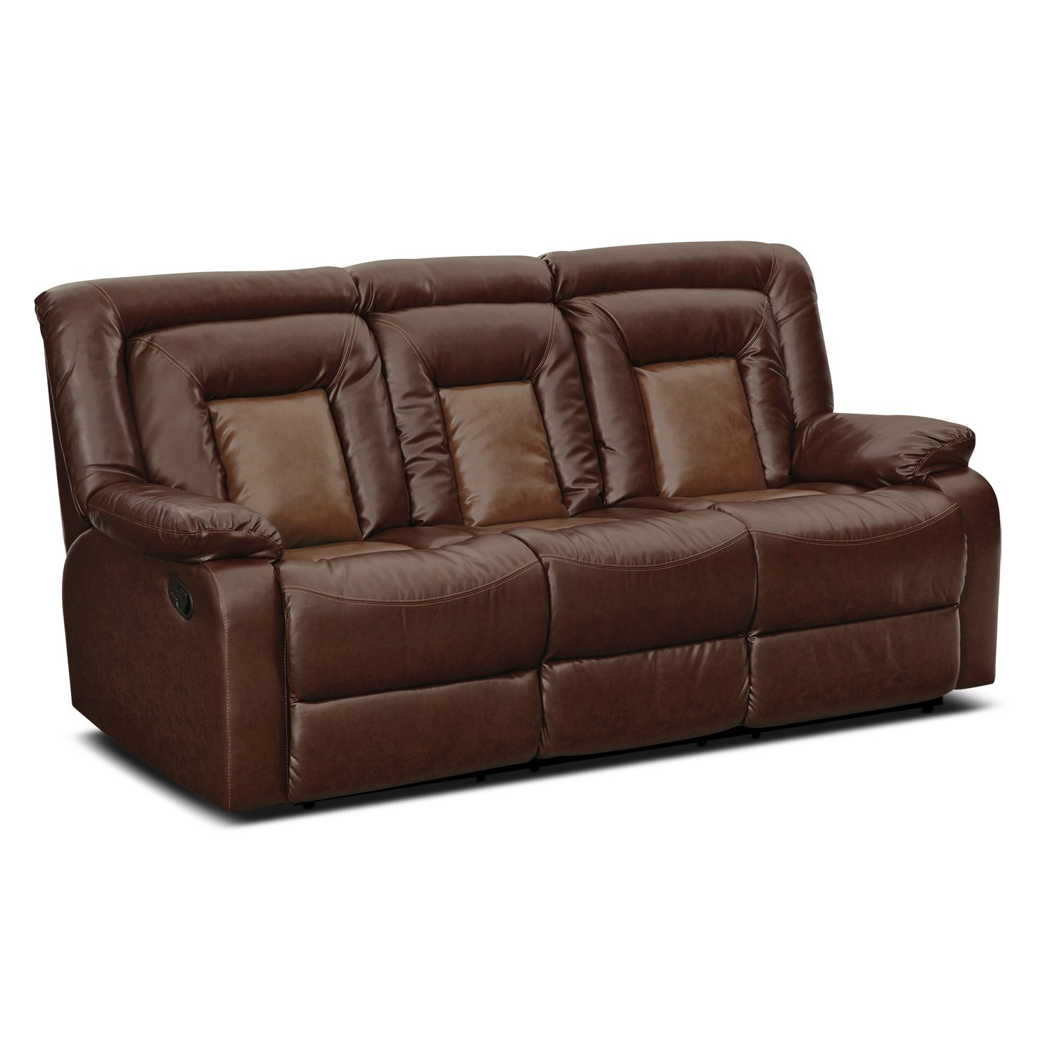 Roundhill Furniture Kmax Dual Reclining Sofa  sc 1 st  Ebanos Crossing & Best Reclining Sofas | Best Reclining Sofas islam-shia.org