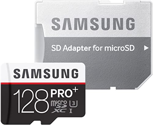 Samsung 128 GB PRO Memory Card with SD Adapter