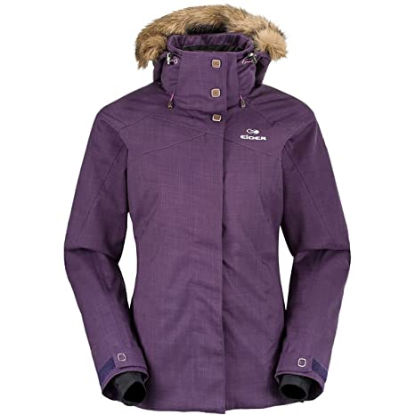 Manteau femme kaki et cuir