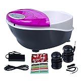 Healcity Elite Plus Ionic Detox Foot Bath SPA System Machine Plus Panel Control + Massager Tub 2 Arrays
