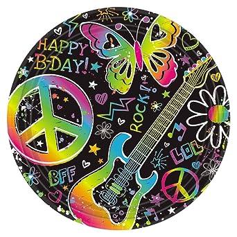 Neon Doodle Birthday Party | Birthday Wikii