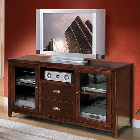 Martin Furniture Tribeca Loft Flat Panel TV Stand, Tall, Cherry