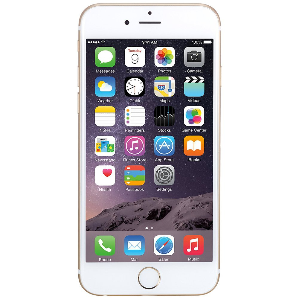 Apple iPhone 6 - Unlocked (Gold) ,16GB