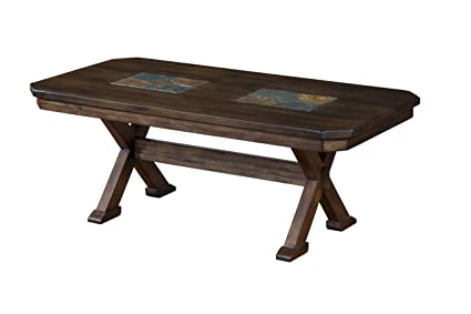 Sunny Designs 3237AC-C Savannah Coffee Table
