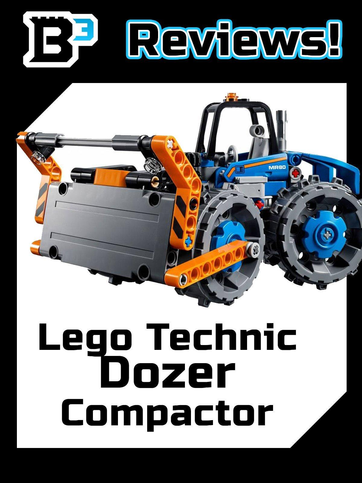 B3 Reviews! Lego Technic Dozer Compactor