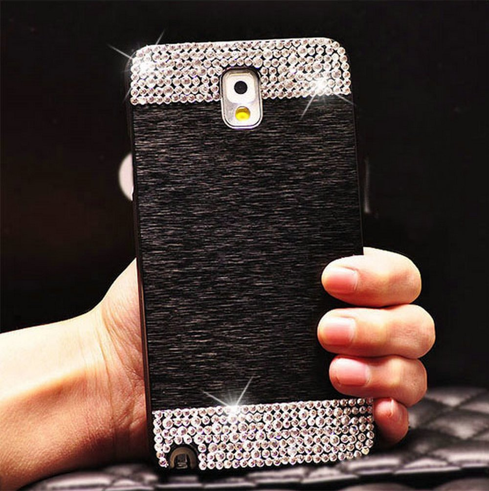 Galaxy S6 Case ,LA GO GO(TM) Beauty Luxury Diamond Hybrid Glitter Bling Hard Shiny Sparkling with Crystal Rhinestone Metal Aluminum Back Cover Case for Samsung Galaxy S6 G9200 ht7530 сот 23 100 шт лот триод транзистор