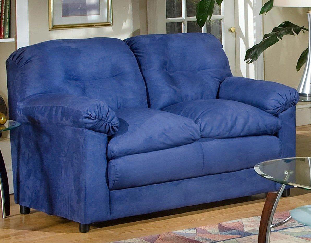 Chelsea Home Furniture Lisa Loveseat - Cobalt Blue